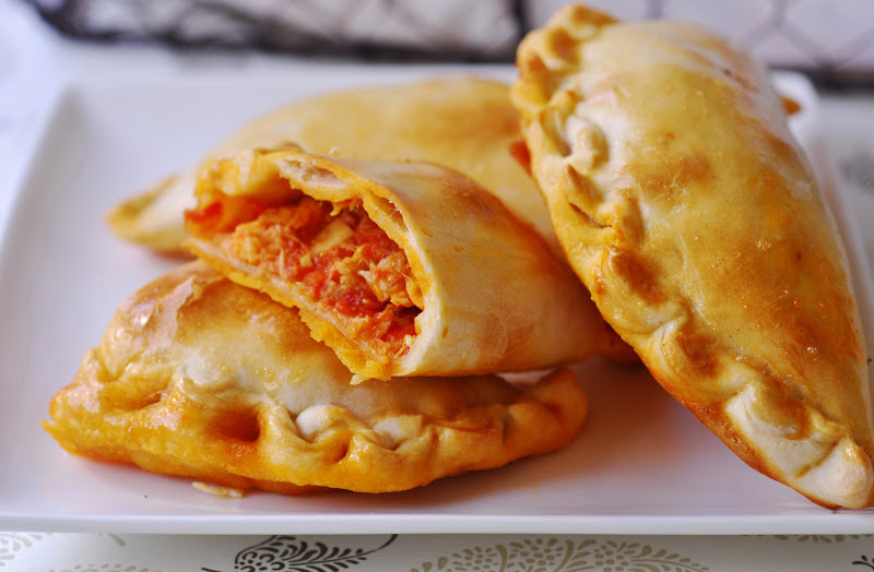 empanada de tomate atun y huevo